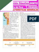 Características Generales de Los Incas