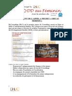 Règlement Appel a Projet Odd Au Feminin 2020-1