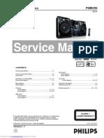 Manual Service Mini Hi Fi System Phillips