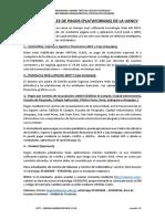 PROCESO DE PAGOS UANCV