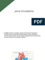 Aula 8 - Sistema Circulatório 2