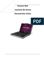 Disassembly EasyNote BU Series