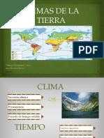 CLIMAS DE LA TIERRA