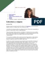 LITERATURA Y OXÍGENO- EMA WOLF.