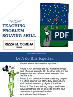 teaching problem solving skills.ppt