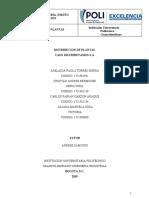 TERCERA  ENTREGA  DISTRIBUCION DE  PLANTA