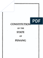 Constitution of Penang