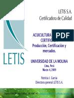 Letis Certificadora organica