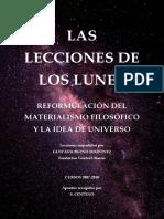 (Apuntes de S. Centeno) Gustavo Bueno - Las lecciones de los lunes (cursos 2007-2010) (2016)