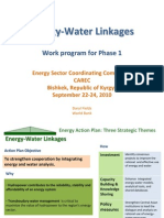 Day3 Energy Water Linkages Update