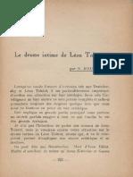 Koulmann-Le Drame Intime de Leon Tolstoi