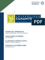 EL ENFOQUE CONSTRCTIVISTA_ JESSICA MEJÍA GUTIERREZ