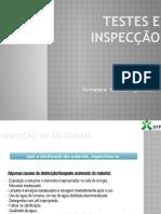 5.1 -Testes e inspecção de materiais