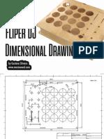 Fliper DJ - Dimensional Drawing