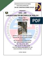 INFORME DEL GRUPO N°4- ENSAYO DE GRANULOMETRIA