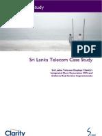 Sri Lanka Telecom Case Study