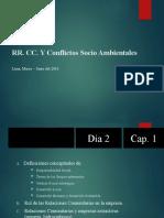RR. CC. Y Conflictos Socio Ambientales