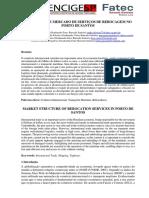 Estrutura de Mercado de Serviços de Rebocadores no Porto de Santos