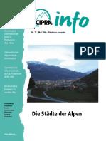 CIPRA_Info_72_D
