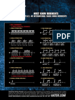 Vater-40_Rudiments - poster