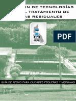 Seleccion de Tecnologias para el Tratamiento de Aguas Residuales Municipales