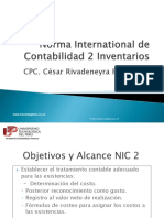 NIC 2 Existencias Cesar Rivadeneyra
