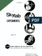 Skylab Experiments
