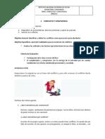 GUIA 1 CONFLICTO Y SOLUCION DE CONFLICTOS GRADO 8 PERIODO 2 2020...-2