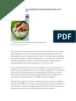 QUE ES EL FINANCIAMIENTO DE EXPORTACION CON POLIZA SEPYMEX
