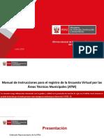 Manual de Instrucciones para Encuesta Virtual por ATM