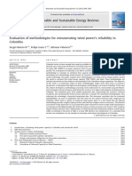 Evaluation of methodologies for remunerating wind power's reliability in