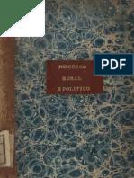 Discurso moral, e politico dedicado ao Serenissimo Senhor Dom Jozé Principe do Brazil