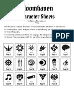 Improved Character Sheets V1.3