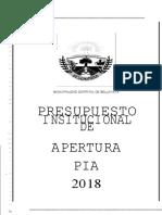 DOCUMENTO-PRESUPUESTO-INSTITUCIONAL-DE-APERTURA-PIA-2018