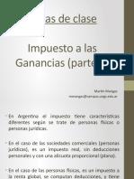 Notas de Clase - Impuesto a las Ganancias Parte 2 (1)