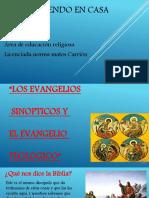 Aprendo en casa LOS EVANGELIOS SINOPTICOS