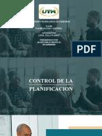Funcion y planificacion del control