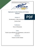 Nemesis Lairvelis Santana- Guía de Procedimientos Reclutamiento y Selección