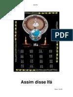 Tratado dos 256 Odus de Ifá Brasil