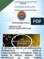 BIOTECNOLOGIA DORADA