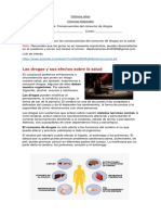 Guia consumo de drogas y efectos en la salud  ( Octavos Años)