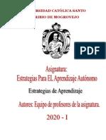 Lectura estrategias afectivas 2020