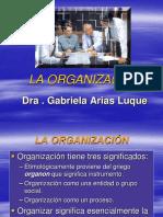 4. La  Organización