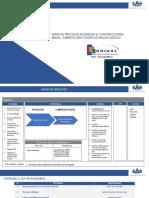 REV 00 Mapa de procesos Fabricación y Montaje Mallas Eólicas