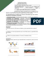 Guía N° 6, Sextos básicos Educación Física.