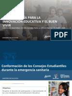 PPT Lineamientos Consejos Estudiantiles Costa