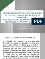 7. FLOTACION, TOSTACION, FUNDICION (1)