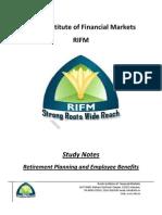 CFP Retirement Planning Study Notes Sample