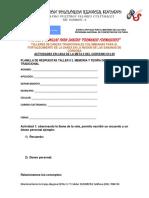 ACTIVIDAD PARA CASA DEL 2° TALLER DE LA META 2