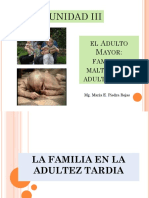 Adulto Mayor familia y maltrato